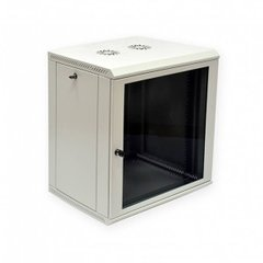 "Шафа 12U 19"" глибина 650 мм сірий Mepsan Mini Cabinet MC12U6065GS-GR, фото 1"
